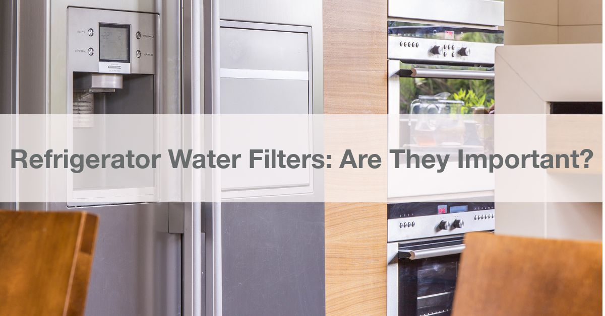 Refrigerator Water Filters Are They Important?